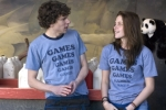 "Jesse Eisenberg and Kristen Stewart star in ""Adventureland."""