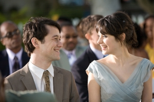 Love at first sight in 500 Days of Summer.