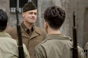 Brad Pitt as Lt. Aldo Raine.